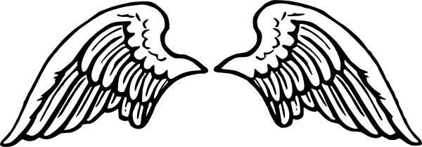 Angel Wings Svg Downloads Outline Download Vector Clip Art Online