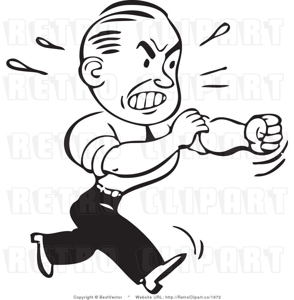 Angry Face Clip Art Black And White Clipart Panda Free Clipart