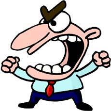 Angry Man Clipart Jpg