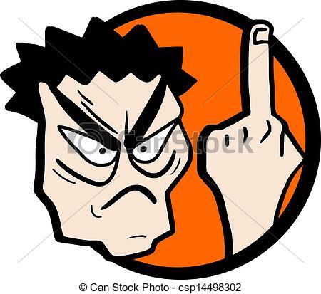 ... Angry man - Creative design of angry man