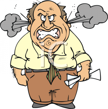 Angry People Clipart #1