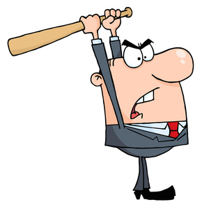 Angry Person Cartoon Clipart .