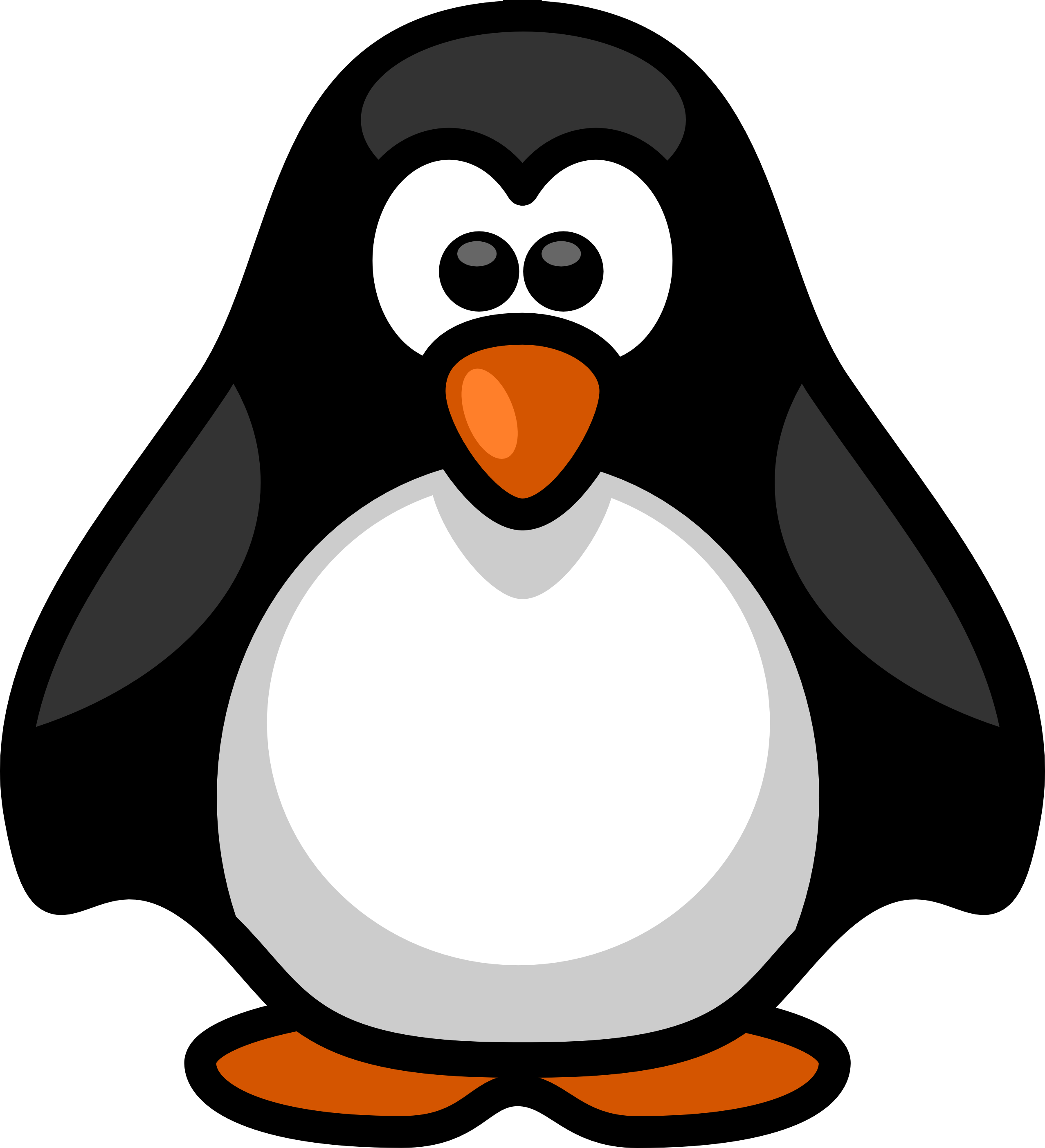 Animal clipart black and white free clipart image