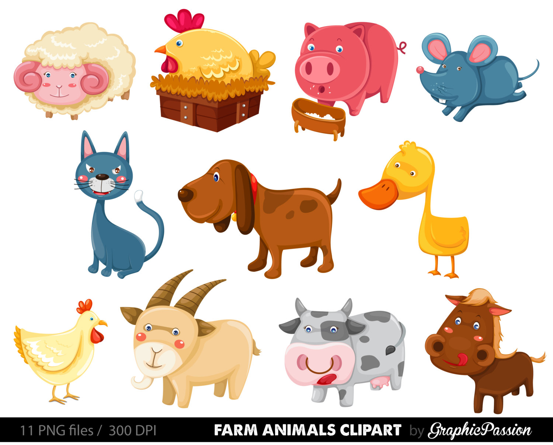 ... Animals Clipart, Farm.