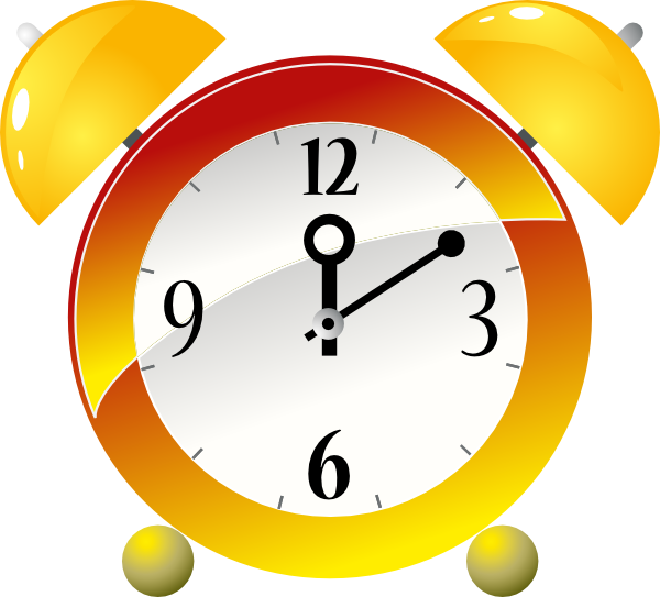 Animated Alarm Clock Clipart # .