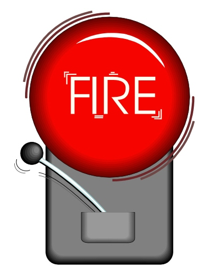 Animated Fire Alarm Clipart