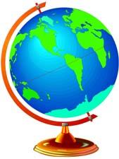 Animated Globe Clipart Clipart .