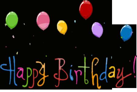 Animated Happy Birthday .
