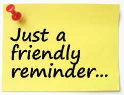 Animated reminder clipart clipartcow