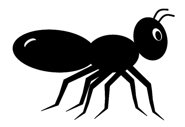 Ant clipart black and white free images