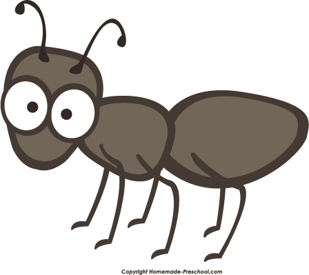 Ant free picnic clipart