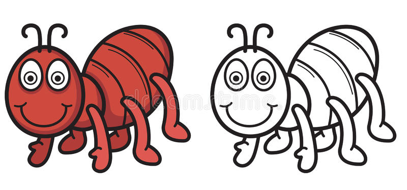 Ant Clipart Black And White C - Ant Clipart Black And White