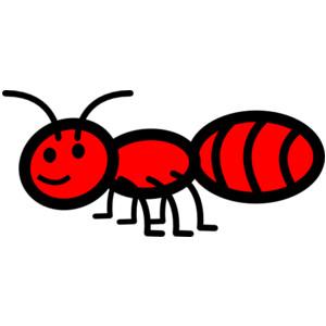 Cute ant clipart kid 4