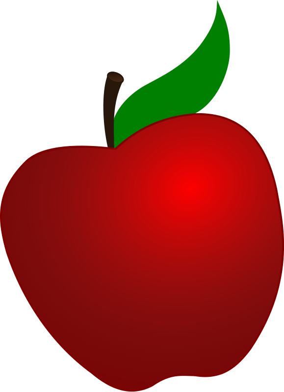 Cartoon Apple | Red Apple cli