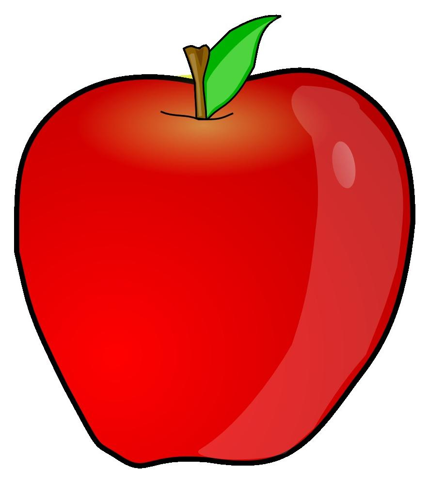 Best HD Teacher Apple Clip Ar - Apple Clipart