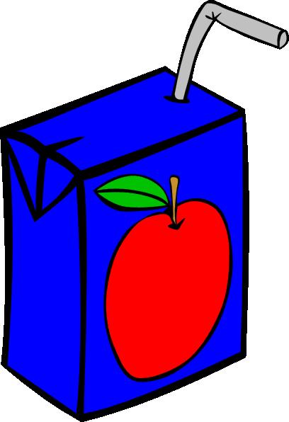 Apple Juice Box Clip Art At Clker Com Vector Clip Art Online