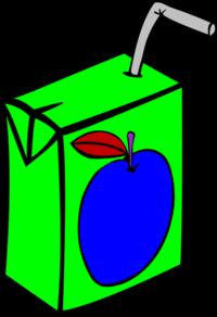 Apple Juice Vector Clip Art