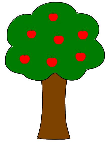 Apple tree clipart 2 .