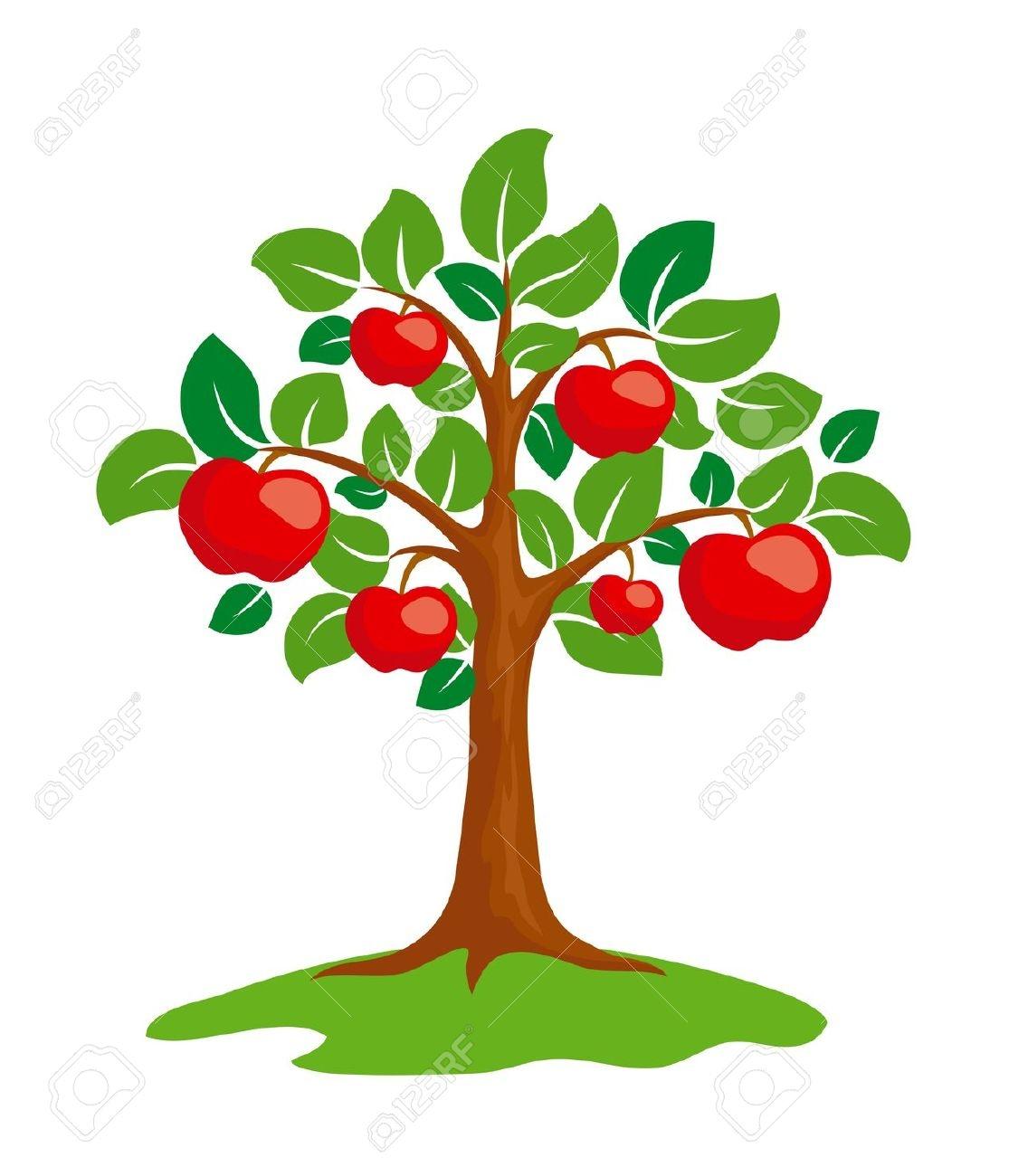 Apple Tree Clipart - .