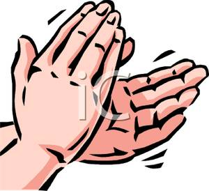 Appreciation Clipart Hands Clapping Royalty Free Clipart Picture