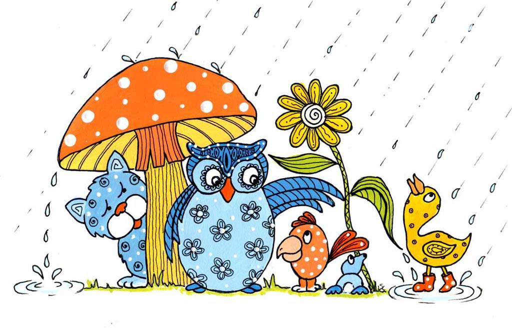april showers bring may flowers clip art