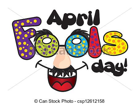 ... april fools day - april foods day illustration with jester... ...