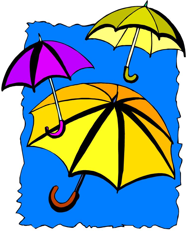 April showers clip art free clipart image 2