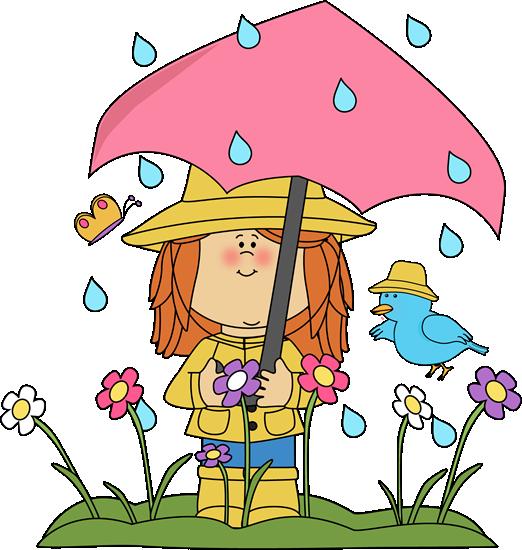 April showers clipart images free clip