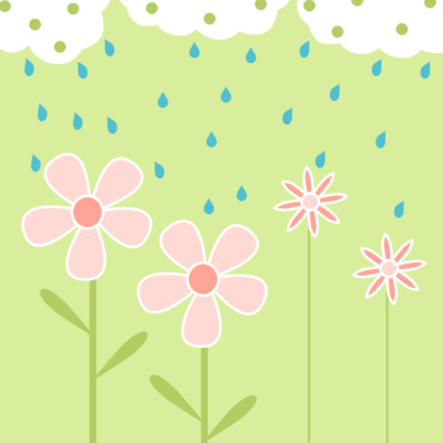 April Showers Free Clipart #1