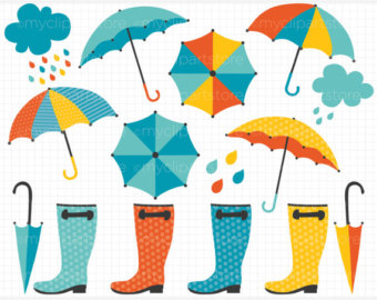 April showers free clipart 3