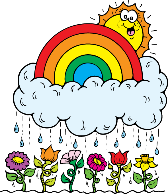 Course: LP Brown/Walsh/Drobish Grade 3. Month Of April Showers Clip Art  Month Of April Showers Image