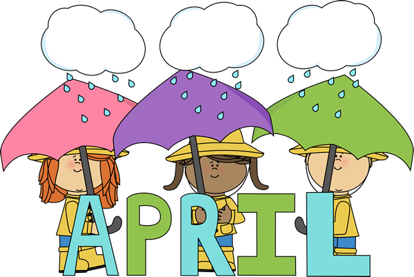 Month Of April Showers