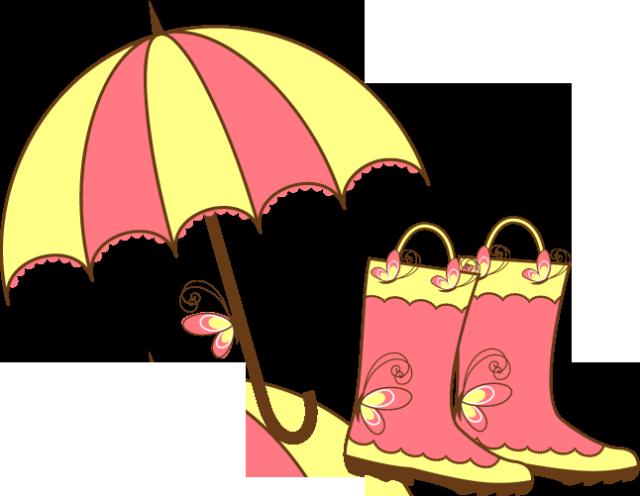 April umbrella clipart clipart