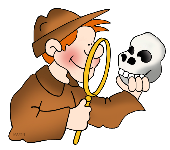 Archaeology Martin Clipart #1
