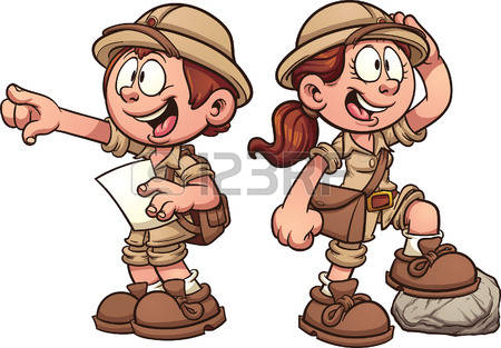 Vector clip art cartoon illustration with simple gradients.