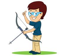 Boy With Bow And Arrow Archery Size: 106 Kb