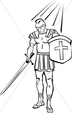 armor of god feet clipart fiery darts - Google Search