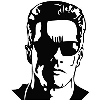 Terminator Arnold Schwarzenegger - Movie Decal Vinyl Car Wall Laptop  Cellphone Sticker