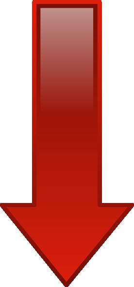 Arrow Down Red Clip Art At Clker Com Vector Clip Art Online Royalty