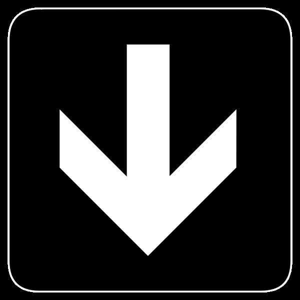 Arrows Down. Down Clip Art