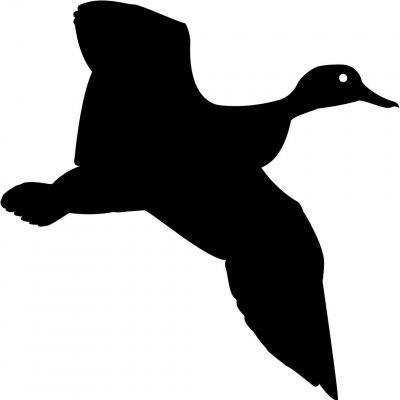 Art ... Duck Silhouette .