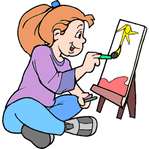 Artist clipart, cliparts of .