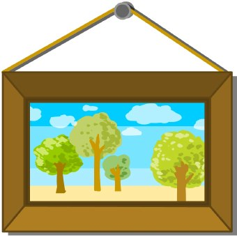 Framed Artwork Clipart #1 - Artwork Clipart
