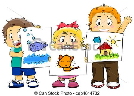 Kid Artworks - Csp4814732