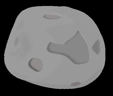 Asteroid Clip Art Free