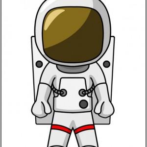 Astronaut clip art clipart image