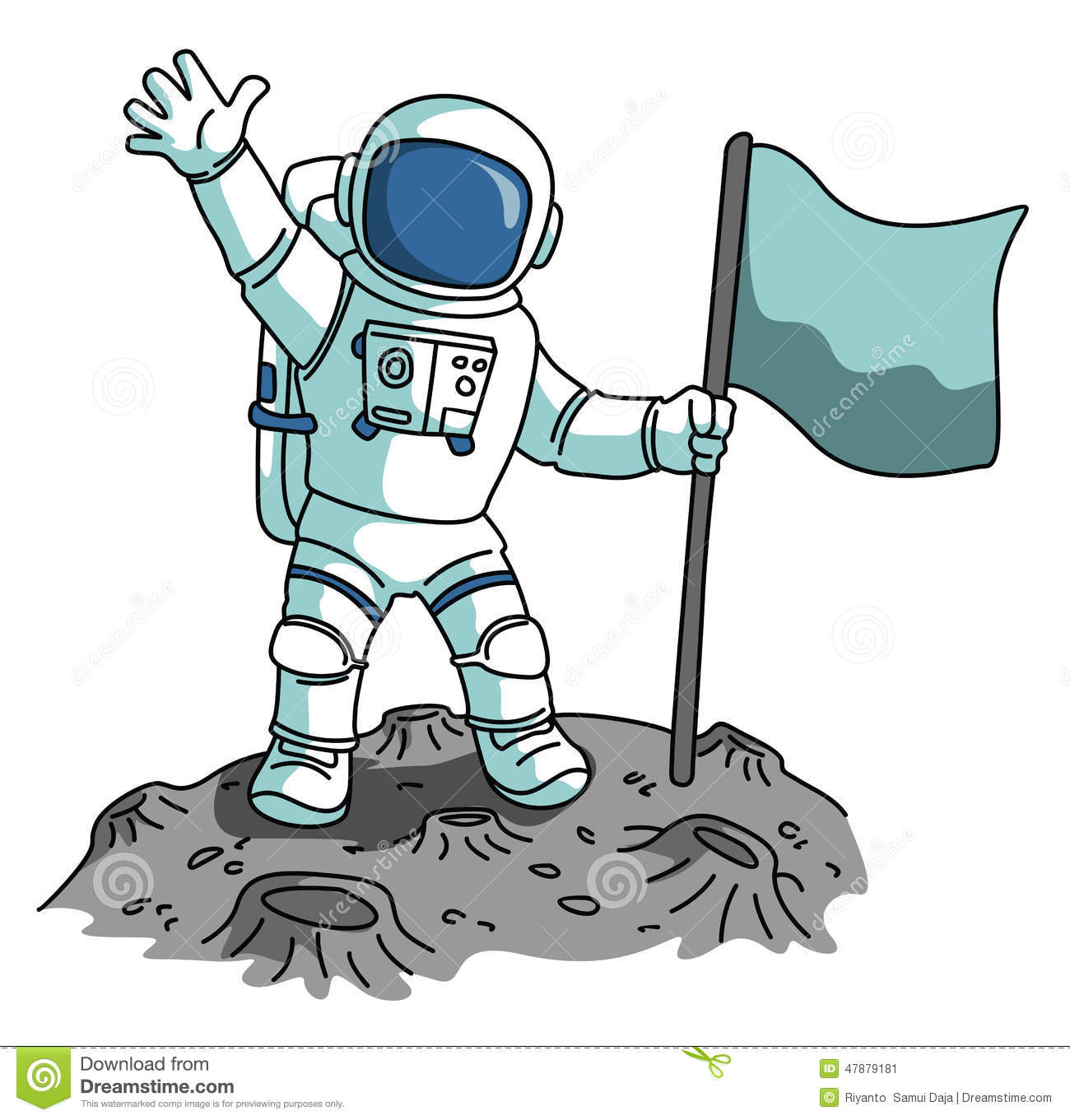 Astronaut Clipart .