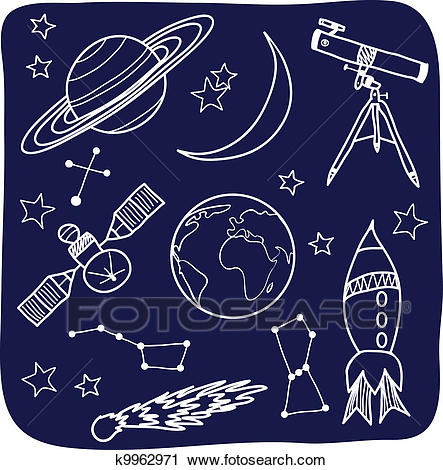 Clipart - Astronomy - Space And Night Sky Objects. Fotosearch - Search Clip  Art,