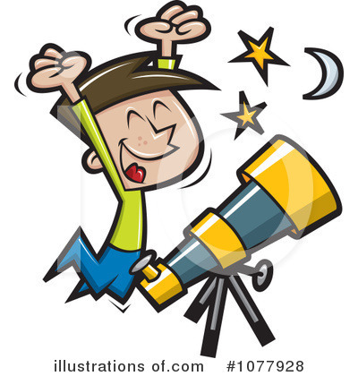 Royalty-Free (RF) Astronomy Clipart Illustration #1077928 By Jtoons