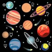 Space and astronomy; planets solar system
